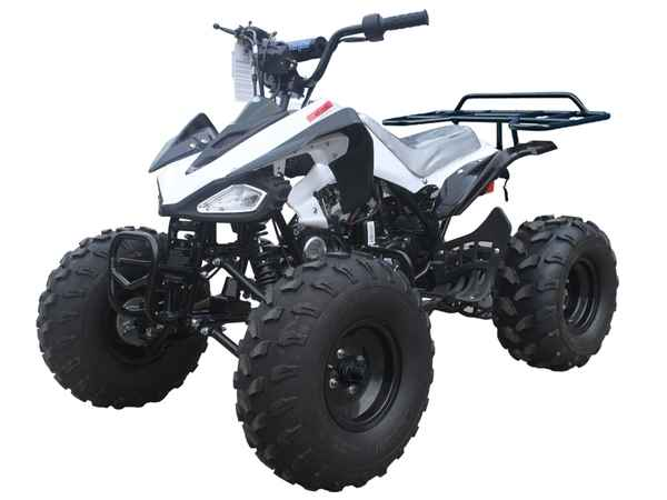 125cc Youth, Sport Body, Semi-Automatic w/ Reverse, Electric Start, Remote Kill, Front Drums, Rear Disc